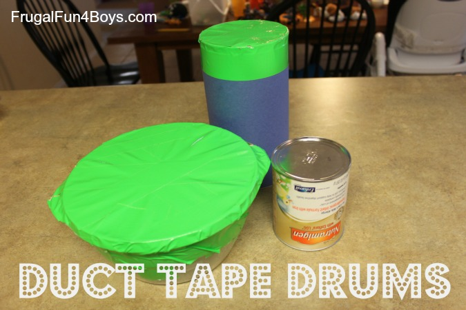 Duct Tape Drums