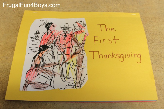 Make a Thanksgiving Book
