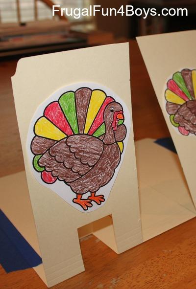 Nerf Turkey Targets