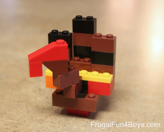 Build a Lego Turkey!