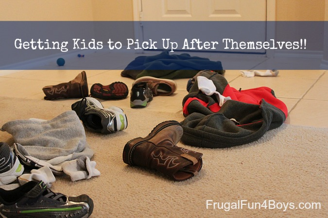 Getting Kids to Pick up After Themselves