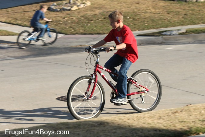 How God provided a bicycle for a 9 year old boy who wanted one