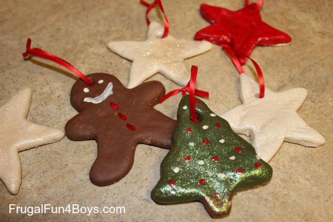- Salt Dough Christmas Ornaments - Frugal Fun For Boys And Girls