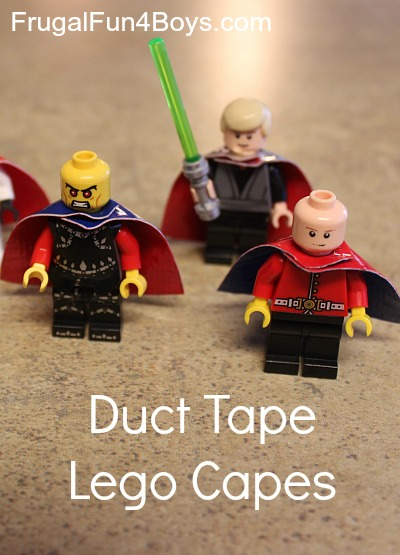 Duct Tape Lego Capes