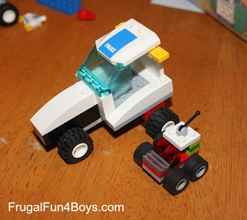 how to build lego vehicles