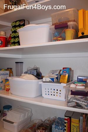 $20 Pantry Re-Organization