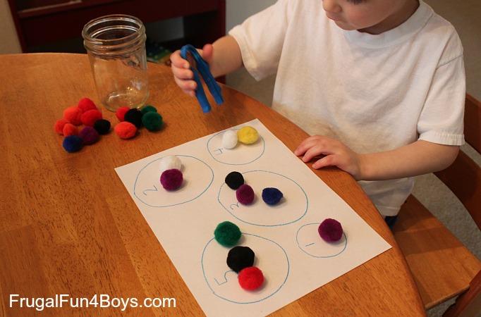 Preschool Counting Activities