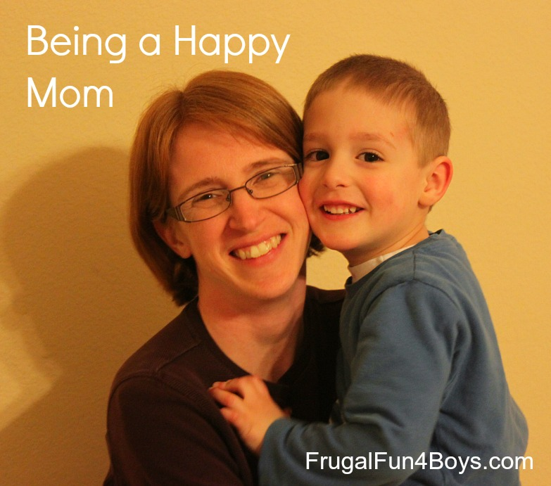 Being a Happy Mom