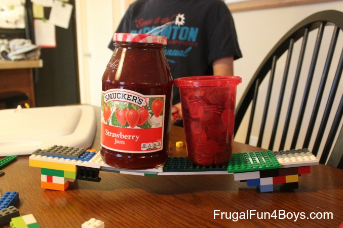 Lego Fun Friday: Bridge Building Challenge