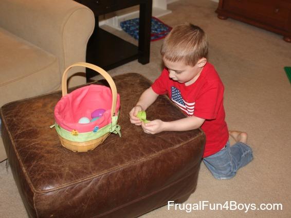Alphabet Egg Hunt