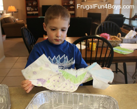 Fun Science with Disposable Diapers