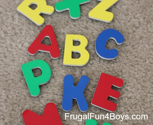 Five Hands-on Ways to Learn the Alphabet