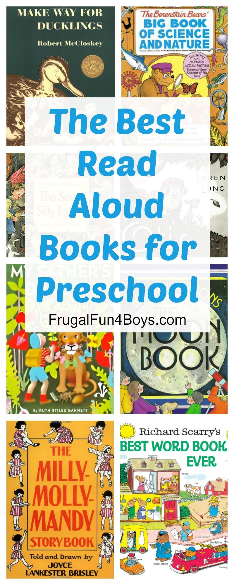 The Best Read-Aloud Books for Preschool
