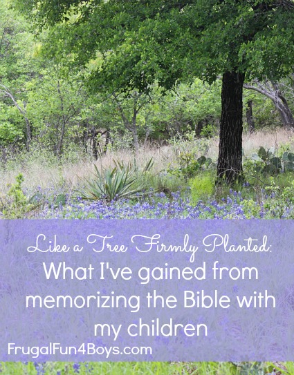 Five Benefits of Memorizing the Bible with Your Kids