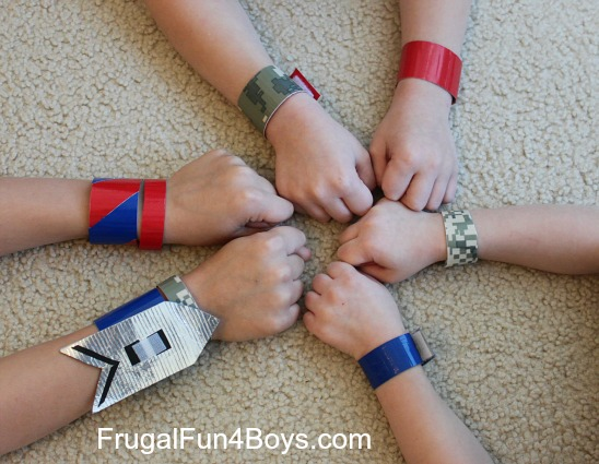 Easy Duct Tape Crafts For Boys