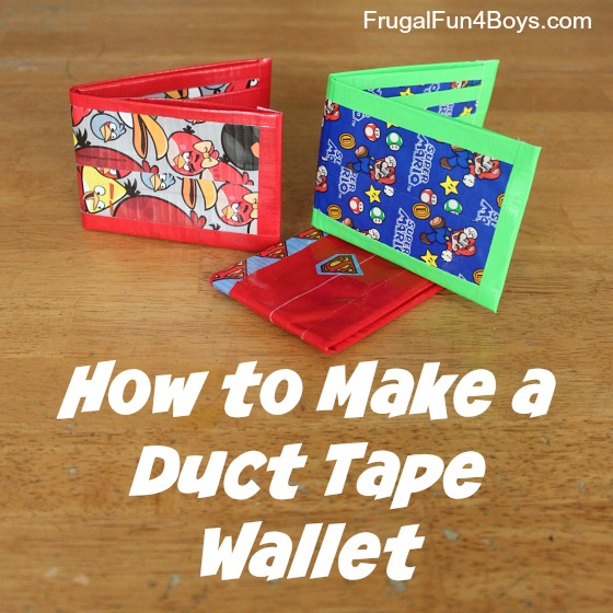How To Make Duct Tape Crafts