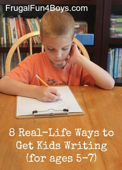 Eight Real-Life Ways to Get Kids Writing