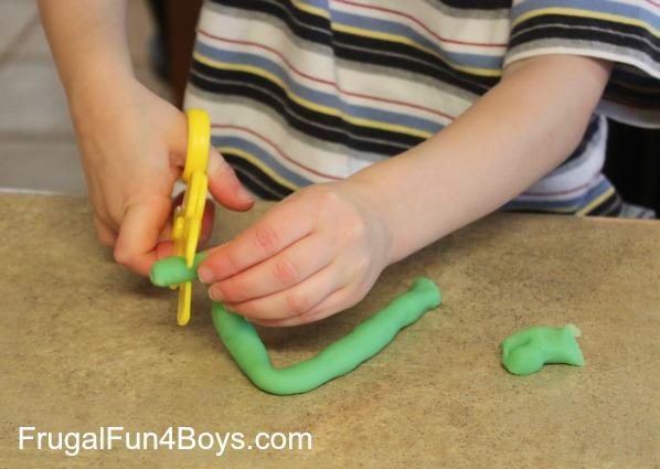 Five Activities for Scissor Practice
