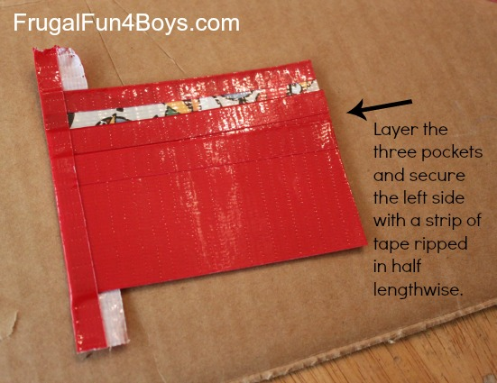 duct tape wallet instructions printable