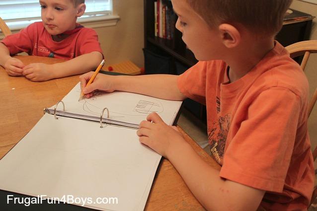 Art Binder:  Contain Those Stacks of Drawings!