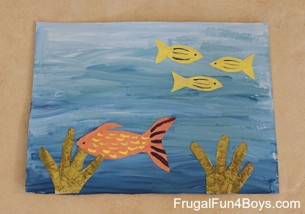 Under the Sea Artwork for Kids