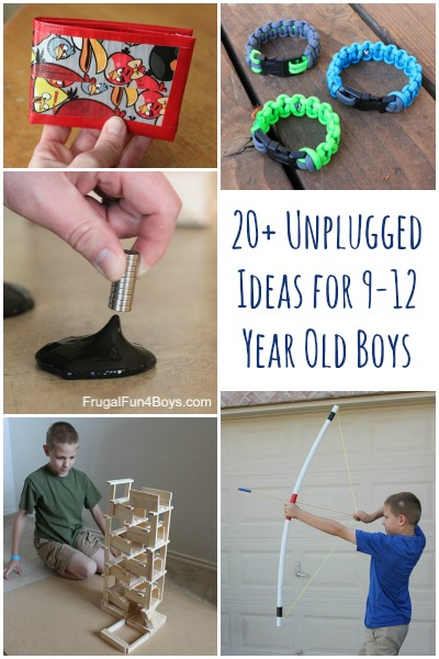boy craft ideas 20 unplugged activities for tween age boys frugal 1167