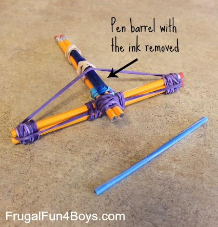 Bow And Arrow Craft Project