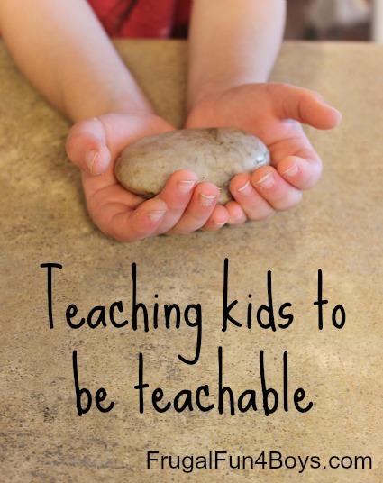 Teaching Kids to be Teachable
