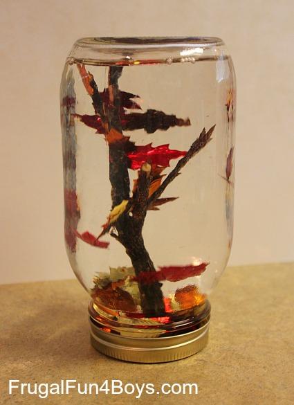 "Fall Leaf ""Snow Globes"""