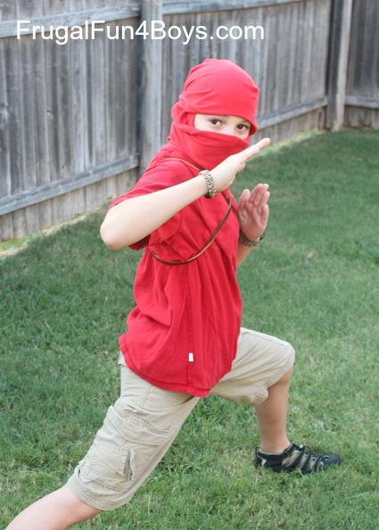 Turn a T-Shirt into a Ninja Mask