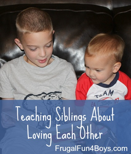 Teaching Siblings About Loving Each Other