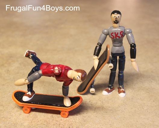 Magnetic Skater Dude Craft