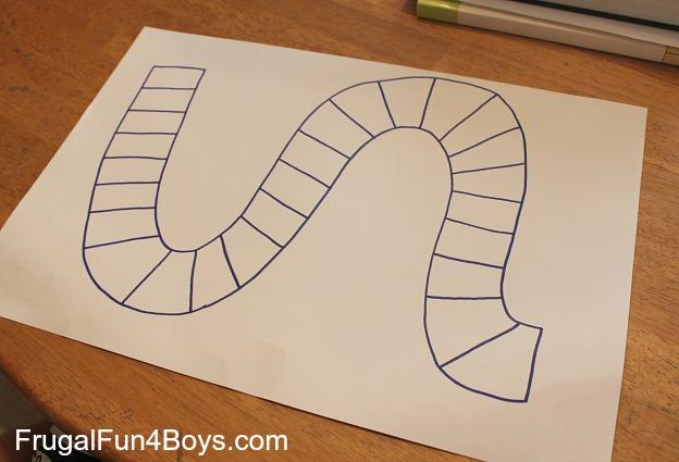 Learn Preschool Math With A Homemade Board Game Frugal