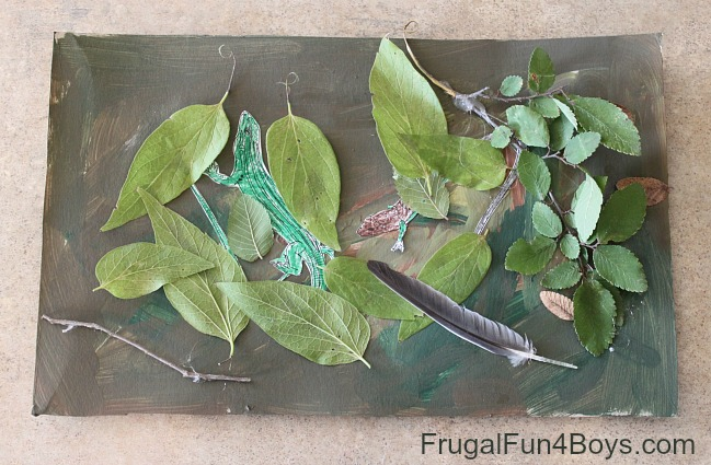 Learn About Animal Camouflage With Hidden Art Frugal Fun