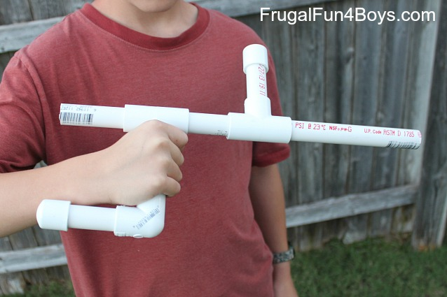 How to make a marshmallow gun out of pvc pipe