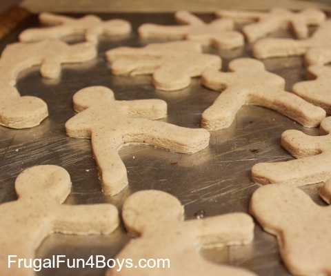 Ninjabread Men Homemade Christmas Ornaments