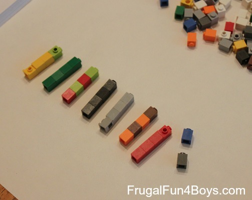 Lego Math: Grouping and Getting Ready for Multiplication