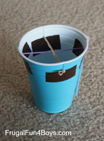 Plastic Cup Shooting Stars
