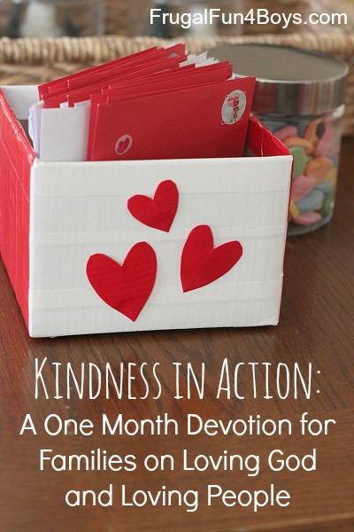 Kindness in Action:  Devotions for Families on Loving God and Loving People