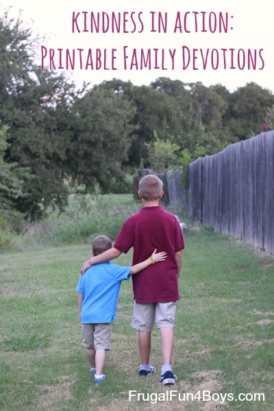Kindness in Action - Devotions for Families