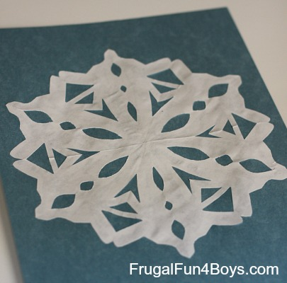 to Cut and Fold Awesome Paper Snowflakes