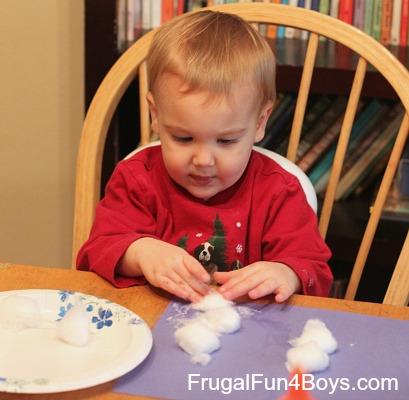 It looked like spilt milk