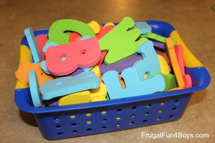 Five (Active!) Activities for Practicing Beginning Word Sounds