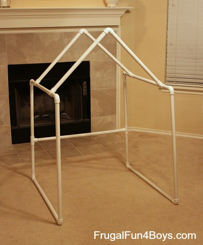 Build A PVC Pipe Play Fort Or Tent