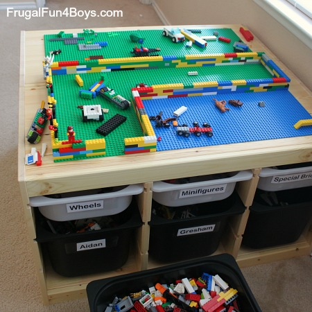 Living with Legos: Reality-Based Storage and Organization Ideas
