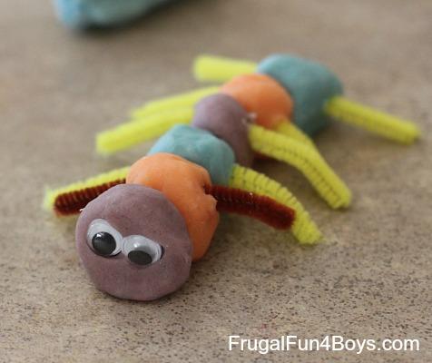 & Playdough Bugs