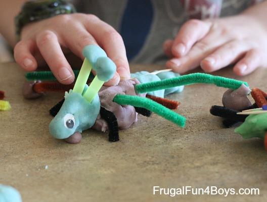 Playdough Bugs