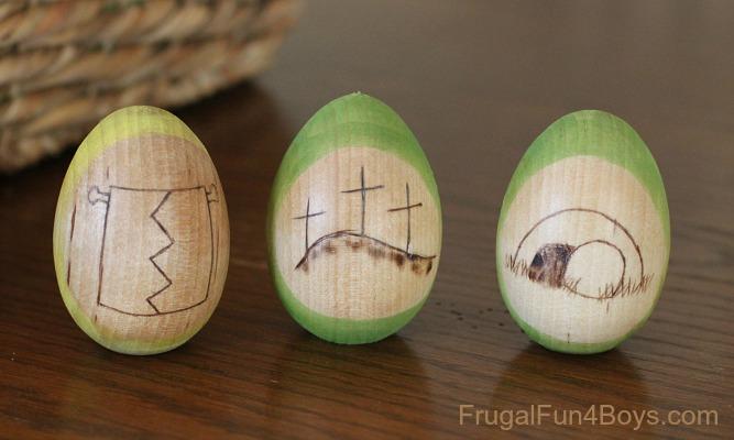 DIY Resurrection Eggs Tell the Easter StoryJesus Easter Egg