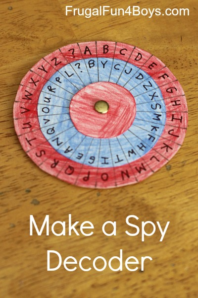 Secret Codes - Make a Spy Decoder