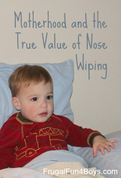 Motherhood and the True Value of Nose Wiping